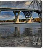 Lake Champlain Tied Arch Bridge Canvas Print
