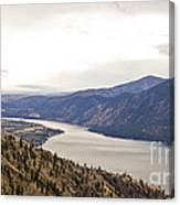 Lake Chelan From Above Canvas Print