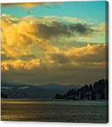 Lake Coeur D'alene Canvas Print