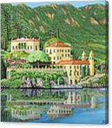 Lake Como Morning Canvas Print