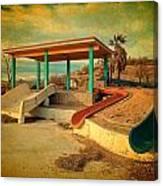 Lake Delores Water Park 2 Canvas Print