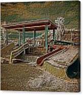 Lake Delores Water Park Canvas Print