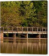 Lake Forest Bridge Canvas Print