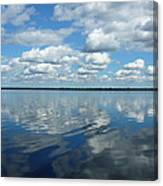 Lake Full Of Clouds Canvas Print