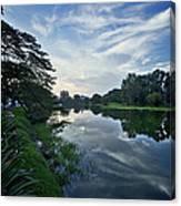 Lake Garden Canvas Print