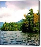 Lake George Islands In Summer Canvas Print