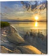 Lake Glow Canvas Print