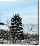 Lake Huron Landscape Canvas Print