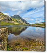 Lake Idwal Canvas Print