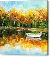 Lake Impression Canvas Print