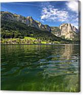 Lake In High Mountains Canvas Print