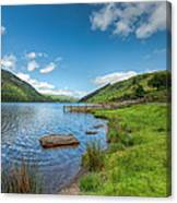Lake In Wales Canvas Print