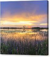 Lake Jackson Sebring Florida Panorama Canvas Print
