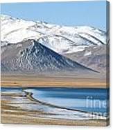 Lake Kara Kul Canvas Print