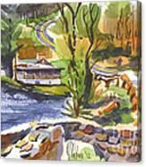Lake Killarney Impressions Ironton Missouri Canvas Print