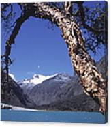 Lake Llanganuco Peru Canvas Print