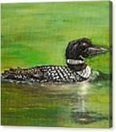 Lake Loon Canvas Print
