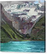 Lake Louise Canada Canvas Print