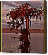 Lake Martin Louisiana Canvas Print