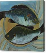 Lake Martin Fish Canvas Print