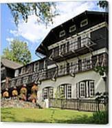 Lake Mcdonald Lodge Canvas Print