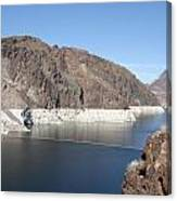 Lake Mead At Hoover Dam 2 Canvas Print