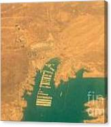 Lake Mead From The Air Canvas Print