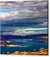 Lake Mead Thunderstorm Canvas Print