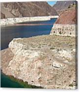 Lake Mead In 2000 Canvas Print