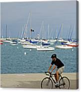 Lake Michigan - Downtown Chicago Canvas Print