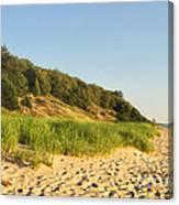Lake Michigan Dunes 01 Canvas Print