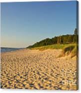 Lake Michigan Dunes 03 Canvas Print