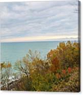 Lake Michigan Fall Canvas Print