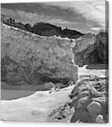 Lake Michigan Ice II Canvas Print
