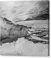 Lake Michigan Ice Iv Canvas Print