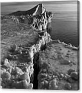 Lake Michigan Ice V Canvas Print