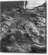 Lake Michigan Ice Xii Canvas Print