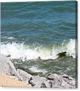 Lake Michigan Shore Canvas Print