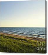Lake Michigan Shoreline 01 Canvas Print