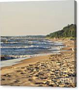 Lake Michigan Shoreline 03 Canvas Print