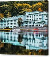Lake Morey Inn And Resort Canvas Print
