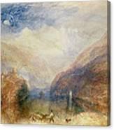 Lake Of Brienz Canvas Print