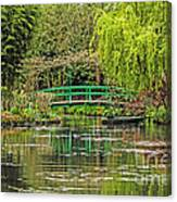 Lake Of Monet Canvas Print