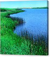 Lake Of The Shining Waters Canvas Print