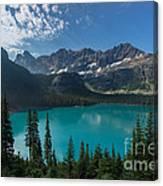 Lake O'hara Canvas Print