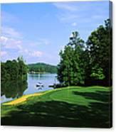 Lake On A Golf Course, Legend Course Canvas Print