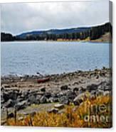 Lake On The Grand Mesa Colorado Canvas Print