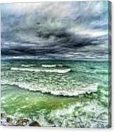 Lake Ontario Waves Canvas Print