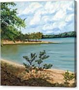Lake Ouachita Canvas Print