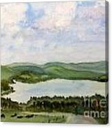 Lake Parker In Glover Canvas Print
